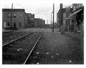 West 15th Street & Railroad Ave at Coney Island 1940  - Brooklyn  NY