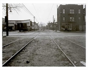West 20th Street & Railroad Ave at Coney Island 1940  - Brooklyn  NY