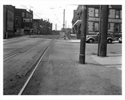 West 35th Street & Railroad Ave at Coney Island 1940  - Brooklyn  NY