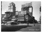 West 43rd Street & 7th Avenue - Midtown - Manhattan  1914