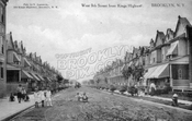 West 9th Street south from Kings Highway, 1912
