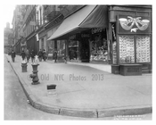 West Broadway sidewalk scene - Theater District - Midtown Manhattan 1915