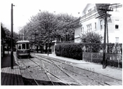 West End Trolley Line 1949