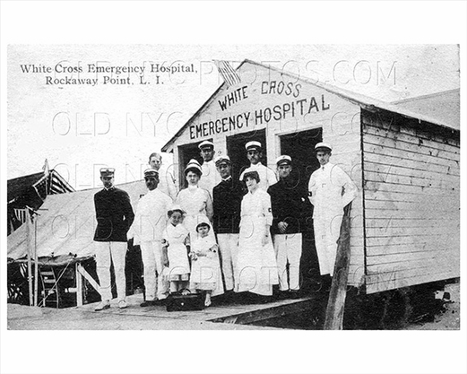 White Cross Hospital Breezy Point Rockaway Point 1925