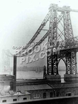 Williamsburg Bridge Under Construction, 1902