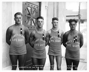 Winners of the 1 mile relay race 1922
