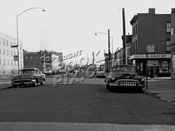 Wolcott Street at Richards Street, c.1958