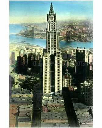 Woolworth Building built 1913