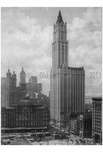 Woolworth Building - Post Office & Lower Broadway