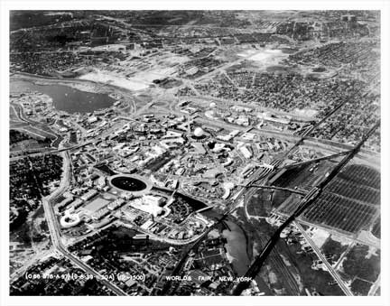 World's Fair 1939 Aerial Shot