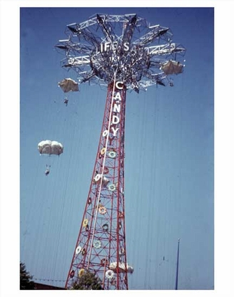 World's Fair Parachutes Flushing Queens NY