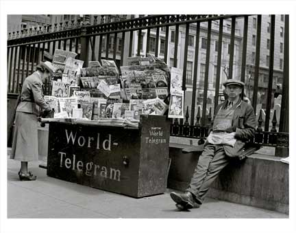 World Telegram News Stand