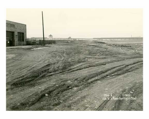 Worlds Fair site 1937 prior to construction - Flushing - Queens - NYC