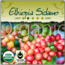 Organic Ethiopia Sidamo Fair-Trade Coffee