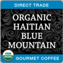 Organic Haitian Blue Mountain Coffee,