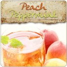 Peach Peppermint Flavored Tea