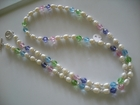 Freshwater Pearls and Swarovski Crystals