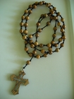 Jerusalem Olive Wood 8mm (Catholic)
