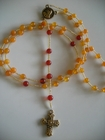 Butterscotch and Dark Carnelian 6mm (Catholic)