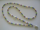 ID Tag :: Rainbow of Colors with White