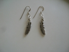 Smaller Silver-plated Feathers