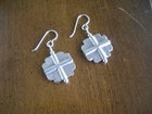 Sterling Silver Square Crosses