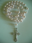 Swarovski Crystal Pearls Baby Pink 8mm (Catholic)