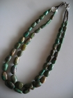 Two Strands :: Blue and Green Turquoise Nuggets