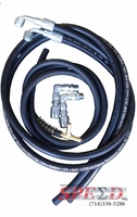 4 Rubber Hydro-Boost Hose Kit