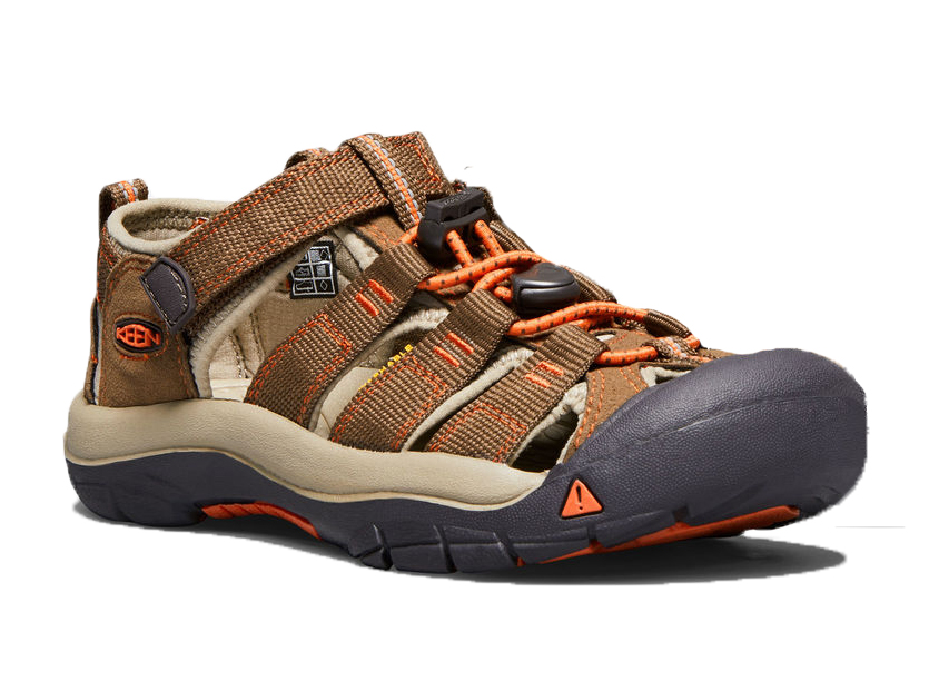 6568fbd32bd4d Keen - Kid Boy Sandals Newport H2 Dark Earth Spicy Orange (Brown)