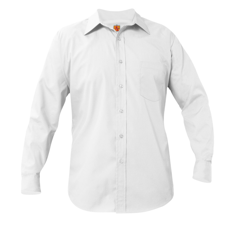 School Apparel Dress Shirt - White