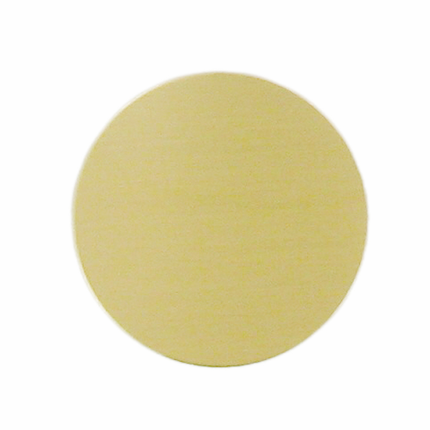 1-1/2 Inch Gold Brass Disc Plate