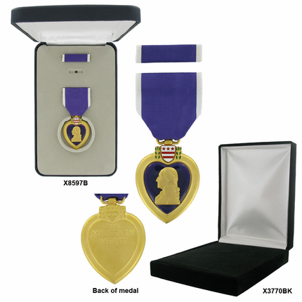 1-3/4 Inch Purple Heart Medal