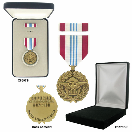 1-3/8 Inch Defense Meritorious Military Medal