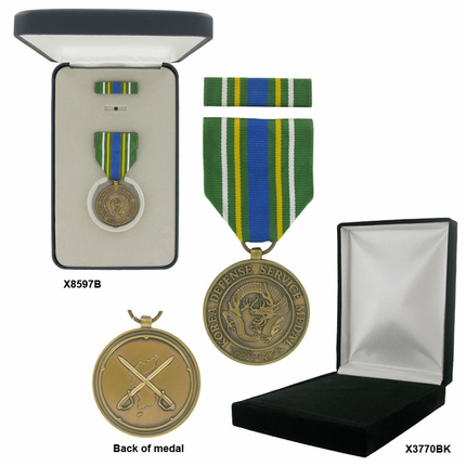1-3/8 Inch Korean Defense Service Military Medal