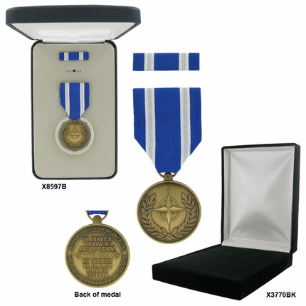 1-3/8 Inch NATO Non-Article 5 For Afghanistan Military Medal