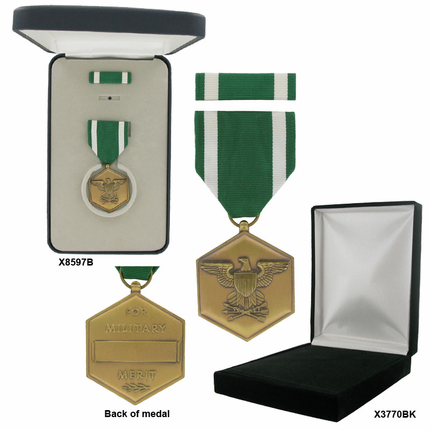 1-3/8 Inch Navy and Marine Corps Commendation Military Medal