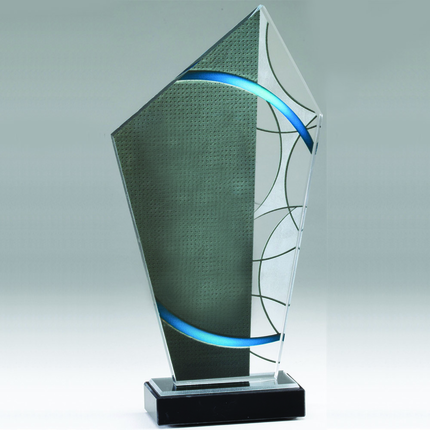 11 Inch Stained Glass Peak Award