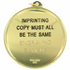 2-1/4 Inch Medal Frame with 2 Inch Public Speaker Medallion Insert Disc