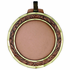 2 3/4 Inch Medal Wreath and Diamond Cut Border Frame-Holds 2 Inch Medallion Insert Disc