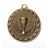 2 Inch Leadership-Outstanding Volunteer Medal in Antique Brass Only