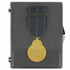3-1/2 x 4-5/8 x 1/2 Inch Black Plastic Hinged Box and Foam with Clear Top for Medals and Ribbons-Up to 3 Inch Medal
