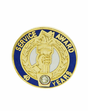 Years of Service Pins, Federal Service Pins, Fire Department ...