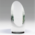 6-1/2 Inch Spotlight Slanted Optical Crystal Tower