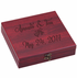 6 Piece Wine Gift Set in Rosewood Box, 9-1/2 x 8-3/4 x 2-1/4