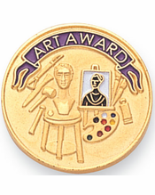 Awards for Artists | Art Pins, Trophies, Medals, and More