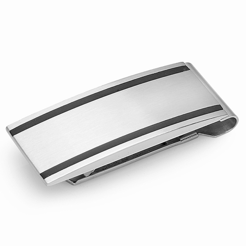 Diego Collection  Stainless Steel Money Clip