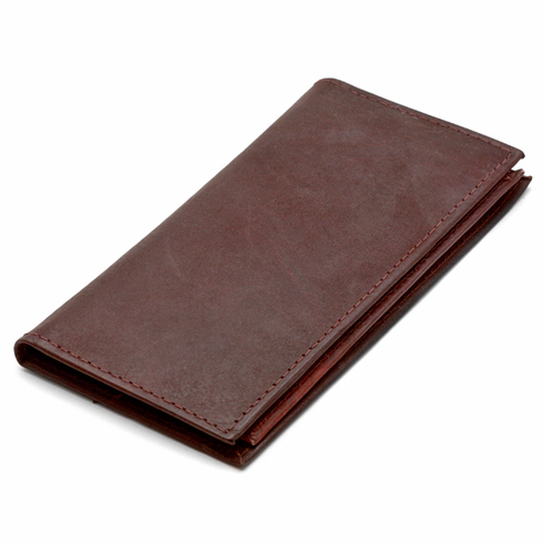 leather checkbook credit card wallet with removable checkbook sleeve