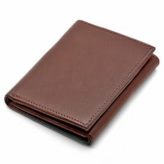 Men's Trifold Wallet with Single ID Window