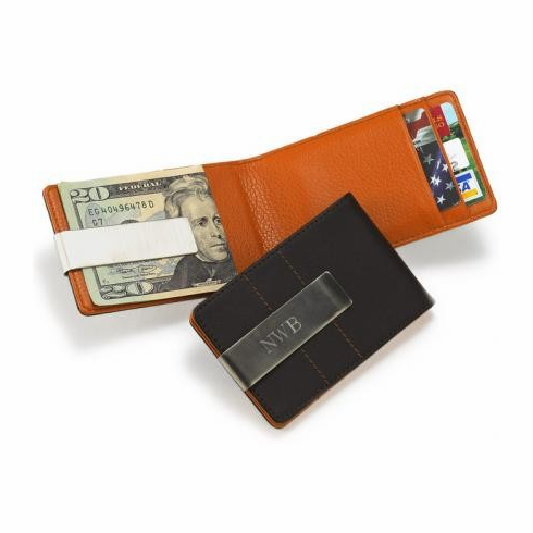 Metro Leather Wallet and Money Clip